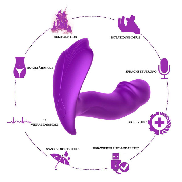 PALOQUETH Butterfly-Vibrator